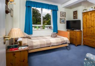 Beautiful bedrooms St Joseph's Nursing Home